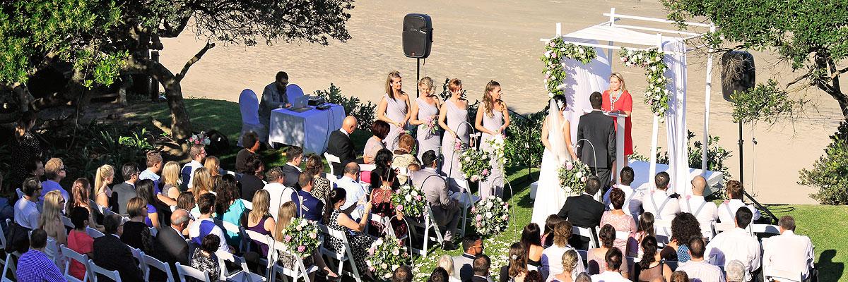 Wild Coast Beach Wedding Venue Morgan Bay Hotel